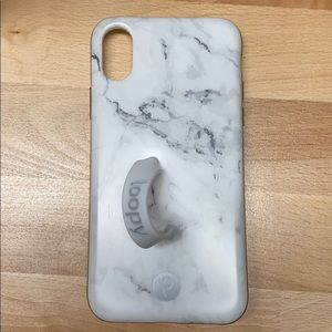 Loopy iPhone X Case Marble